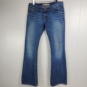 BKE sabrina boot cut jeans